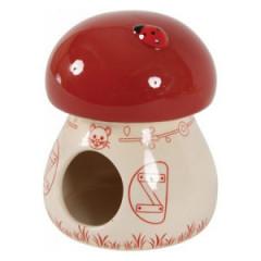 ZOLUX Domek ceramiczny dla gryzoni Grzybek WYPRZEDAŻ