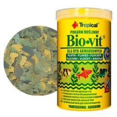 TROPICAL Bio-Vit - Pokarm dla ryb w formie płatków
