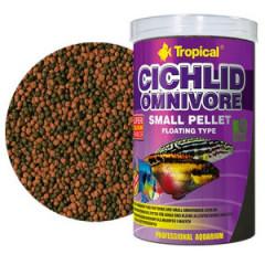TROPICAL Cichlid Omnivore Small Pellet - pokarm dla młodych i mniejszych pielęgnic
