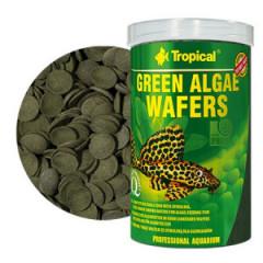 TROPICAL Green Algae Wafers - roślinne wafelki dla glonojadów