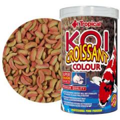 TROPICAL Koi Croissant Colour - sticksy z czosnkiem dla karpi koi
