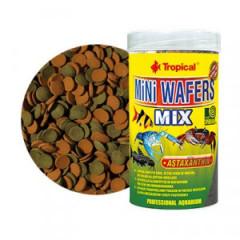 TROPICAL Mini Wafers Mix - tonące wafelki dla ryb dennych i skorupiaków