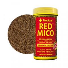 TROPICAL Red Mico - liofilizowane larwy ochotkowatych 100ml / 8g