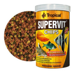 TROPICAL Supervit Chips - pokarm w formie tonących chipsów