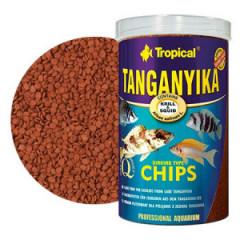 TROPICAL Tanganyika Chips - pokarm tonący dla pielęgnic z jeziora Tanganika 250ml/130g
