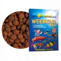TROPICAL Weekend Food - pokarm w formie tonących tabletek 20g/ok. 24 tab.