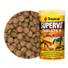 TROPICAL Supervit Tablets B - pokram dla ryb strefy dennej 50ml/36g (200 tab.)