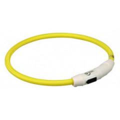 TRIXIE Pierścień USB z lampą błyskową - żółty