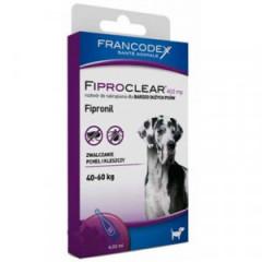 FRANCODEX Fiproclear dla bardzo dużych psów (40kg-60kg) - 402mg x 2 pipety