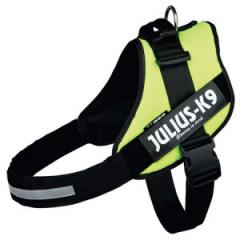 JULIUS-K9 Szelki dla psa - Neonowe żółte