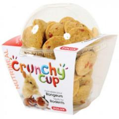 ZOLUX Crunchy Cup Candy - przysmaki dla gryzonia naturalne/z marchewką 200g
