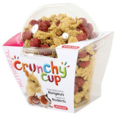 ZOLUX Crunchy Cup Candy - przysmaki dla gryzonia naturalne/z buraczkiem 200g