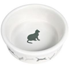 TRIXIE Miska ceramiczna dla kota 0,25l