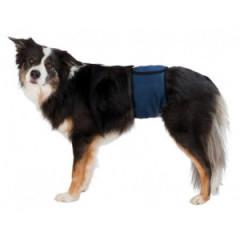 TRIXIE Pas na podbrzusze dla psa - ciemnoniebieski