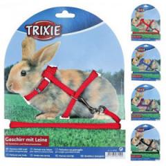 TRIXIE Szelki ze smyczą dla królika 25-44cm/8mm