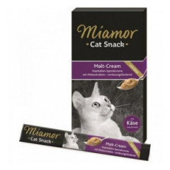 MIAMOR Cat Confect - Malt-Cream pasta z serem 6x 15g