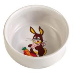 TRIXIE Miska ceramiczna z motywem królika 300ml