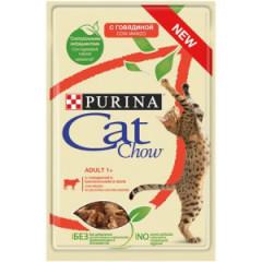 PURINA Cat Chow Adult Wołowina i bakłażan