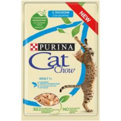 PURINA Cat Chow Adult Łosoś i zielona fasolka