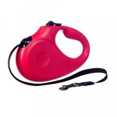 BARRY KING Smycz automatyczna dla psa - czerwona