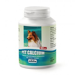 MIKITA Pet Calcium - 100 tabletek