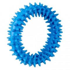 BARRY KING Mały ring XS dla szczeniąt 9,5cm - niebieski