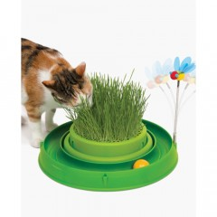 CATIT Tor Play'n Scratch z trawą - zielony