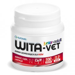 EUROWET Wita-Vet 3,2g - Junior/Adult 100 tabl.