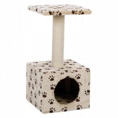 TRIXIE Domek / Drapak dla kota Zamora - beżowy w łapki