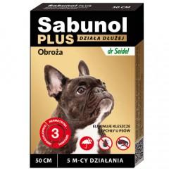 SABUNOL Plus - Obroża dla psa o przedłużonym działaniu do 5mc (50cm)