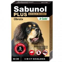SABUNOL Plus - Obroża dla psa o przedłużonym działaniu do 5mc (90cm)