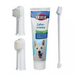 TRIXIE Zestaw do higieny jamy ustnej