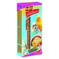 VITAPOL Smakers 3w1 dla papugi falistej - owocowy / miodowy / jajeczny 130g