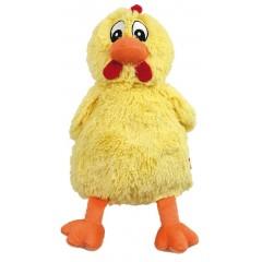 AQUA NOVA Piszczący, pluszowy kurczak 38cm