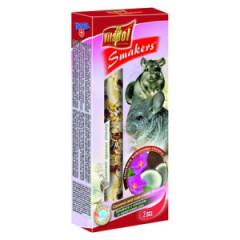 VITAPOL Smakers kokosowo - różany dla szynszyli 2 szt.
