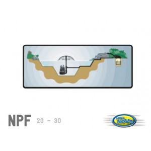 AQUA NOVA Filtr ciśnieniowy 20l, lampa UW 9W, oczko 10000l