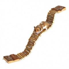 TRIXIE Drewniana drabinka / most dla gryzoni 7 x 55cm