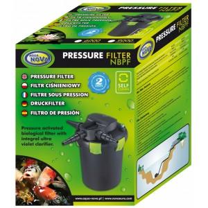 AQUA NOVA Filtr ciśnieniowy, system Backflush, UW 11W, oczko 9000l