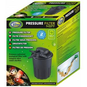 AQUA NOVA Filtr ciśnieniowy, system Backflush, UW 24W, oczko 15000l