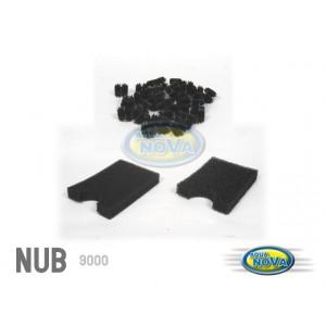 AQUA NOVA Filtr przelewowy do oczka max 9000l, lampa UW 11W