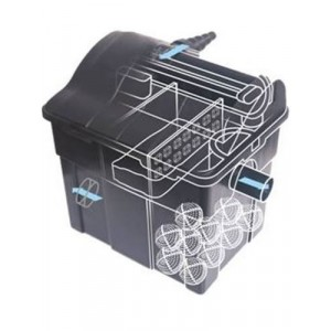 AQUA NOVA Filtr przelewowy do oczka max 25000l, lampa UW 36W