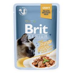 BRIT Premium Tuna Fillets Adult - Filety z tuńczyka w sosie dla kota