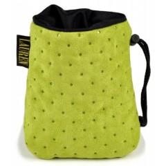 LAUREN DESIGN Pikowana torebka na smakołyki 15 x 13 cm - zielona