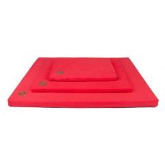 LAUREN DESIGN Materac DEMI - czerwony (pikowany)