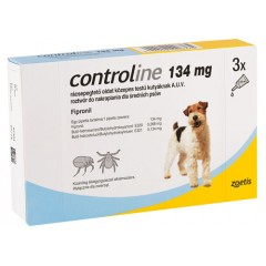 CONTROLINE Spot On M 10 - 20kg (3x 134mg)