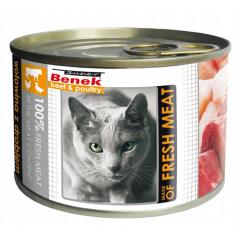 SUPER BENEK CAT Meat Wołowina z drobiem (puszka)