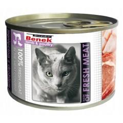 SUPER BENEK CAT Meat Jagnięcina z drobiem (puszka)