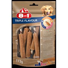 8in1 Przysmak Triple Flavour Ribs 6 szt.