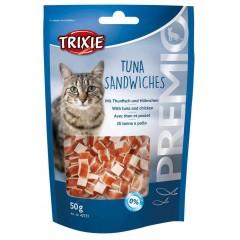 TRIXIE Premio Kanapki z tuńczykiem - przysmaki dla kota 50g