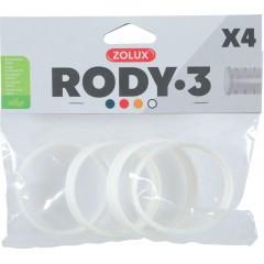 ZOLUX Złączka RODY3 (4 szt.) - biały